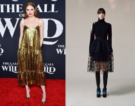 Karen Gillan to wear Christopher Kane Pre-Fall 2020