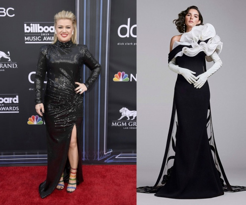 Kelly Clarkson to wear Georges Chakra Fall 2020 Couture