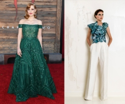 Jessica Chastain to wear Imane Ayissi Fall 2020 Couture