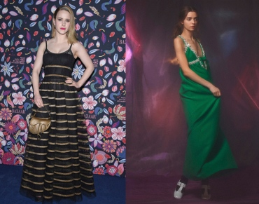 Rachel Brosnahan to wear Miu Miu Pre-Fall 2020
