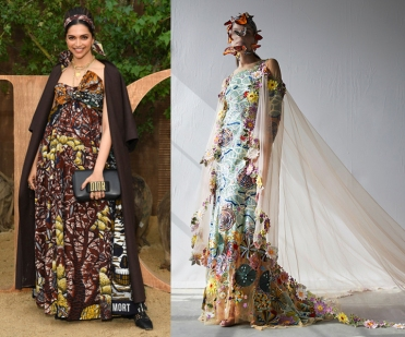 Deepika Padukone to wear Rahul Mishra Fall 2020 Couture