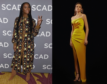 Tika Sumpter to wear Rasario Pre-Fall 2020