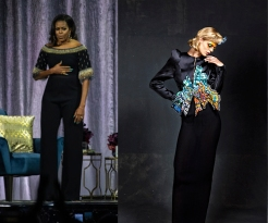 Michelle Obama to wear Ronald Van Der Kemp Fall 2020 Couture