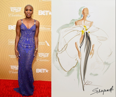 Cynthia Erivo to wear Schiaparelli Fall 2020 Couture