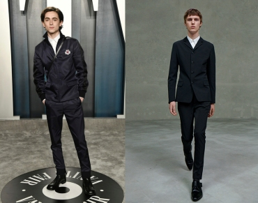 Timothee Chalamet to wear Prada Spring 2021 Menswear