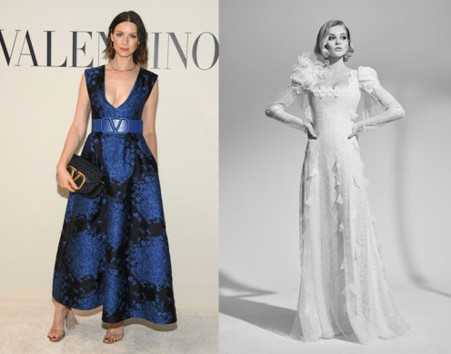 Caitriona Balfe to wear Ulyana Sergeenko Fall 2020 Couture