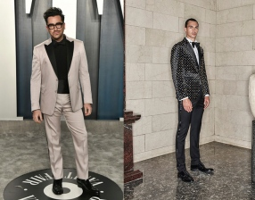 Dan Levy to wear Atelier Versace Fall 2020 Couture