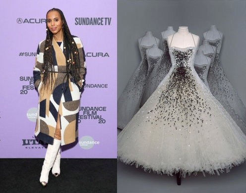 Kerry Washington to wear Christian Dior Fall 2020 Couture