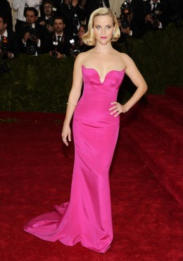 Reese Witherspoon to re-wear the Stella McCartney gown first worn to the 2014 Met Gala