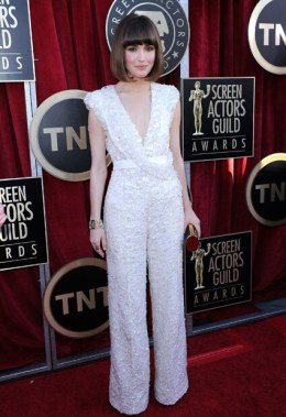 Rose Byrne to re-wear the Elie Saab Couture jumpsuit first worn to the 2012 SAG Awards