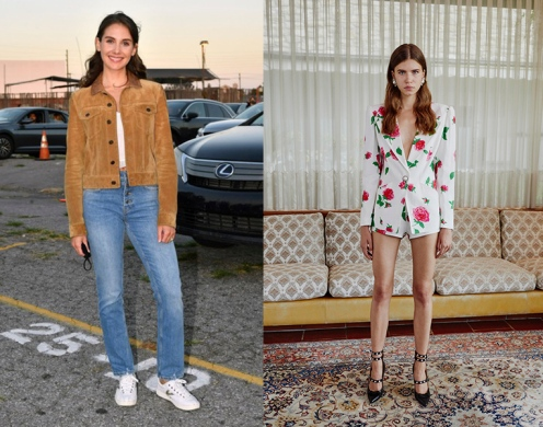 Alison Brie to wear Alessandra Rich Spring 2020 RTW