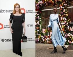 Christina Hendricks to wear Lela Rose Fall 2020 RTW