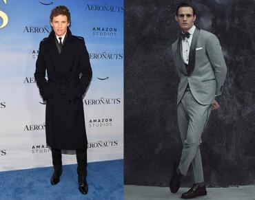 Eddie Redmayne to wear Brunello Cucinelli Fall 2021 Menswear