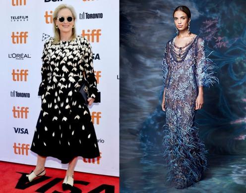 Meryl Streep to wear Marchesa Spring 2021 RTW