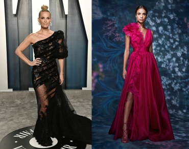 Molly Sims to wear Marchesa Spring 2021 RTW