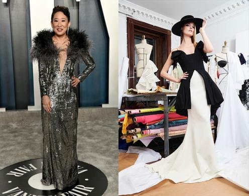 Sandra Oh to wear Christian Siriano Pre-Fall 2021