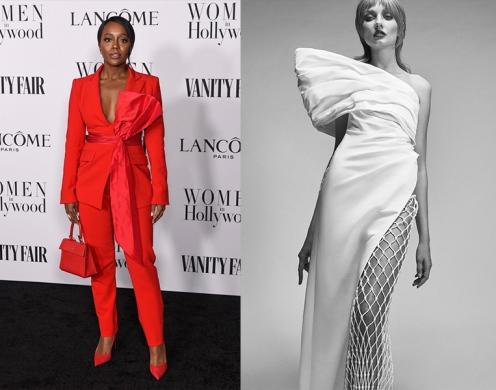 Aja Naomi King to wear Cong Tri Spring 2021 RTW