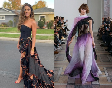Merle Dandridge to wear Georges Chakra Spring 2020 Couture